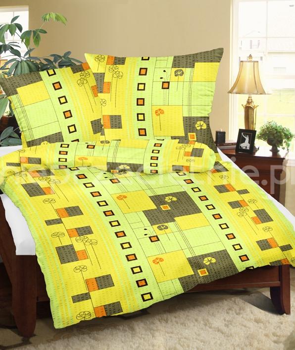 żółta pościel z kory - zdjęcie