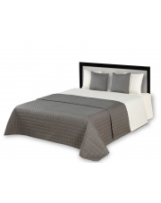 dwustronna narzuta na łóżko