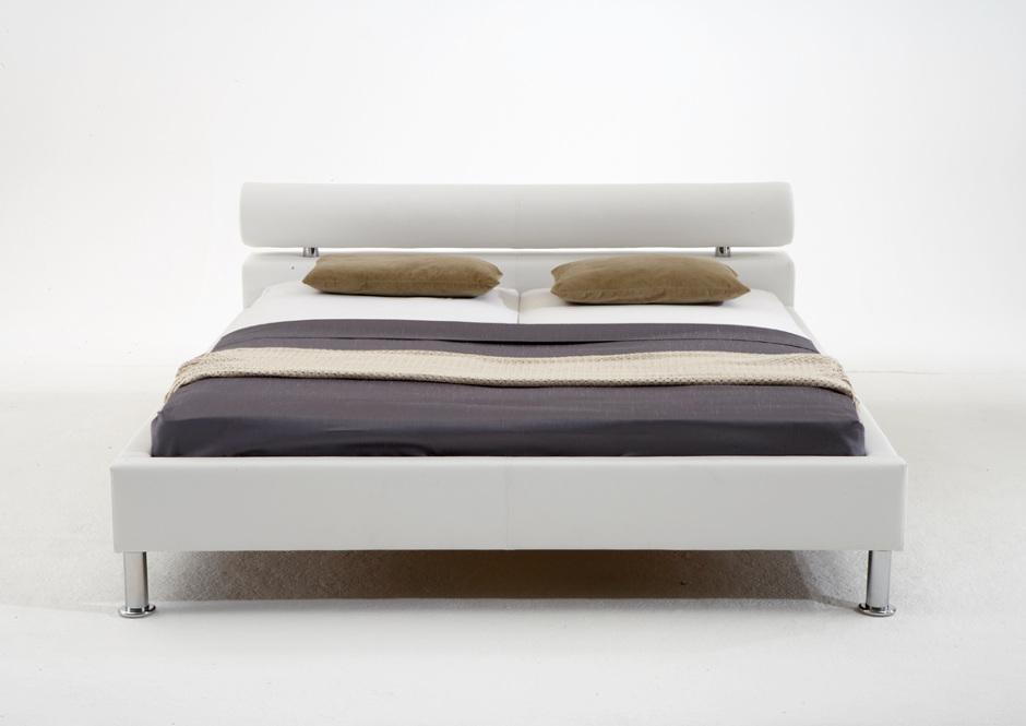 nowoczesne łóżko tapicerowane