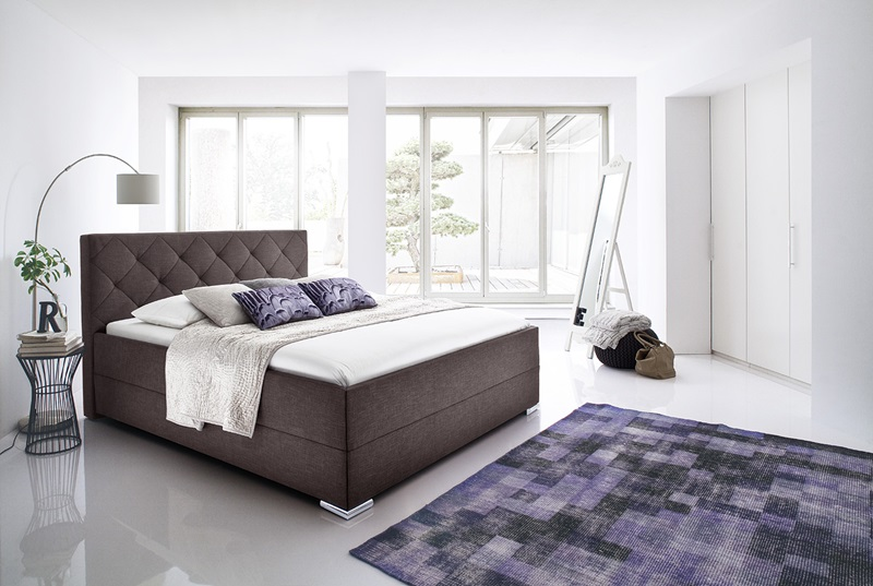 łóżko tapicerowane - meble nowoczesne